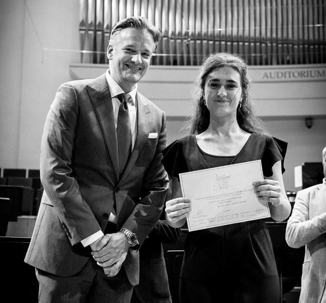 3rd Prize at the B.Mazzacurati Iternational Cello Competition in Torino!